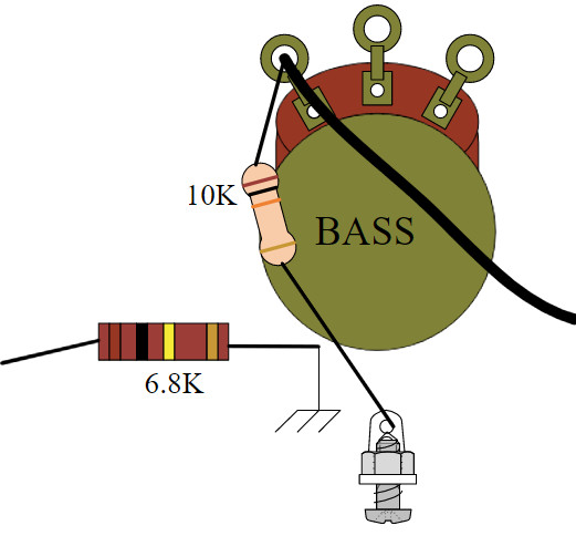 Amplifier Conversion Guide - Blackface/Silverface Normal channel to Bass