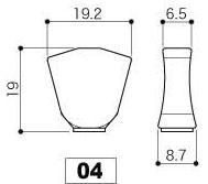 Knob Dimensions
