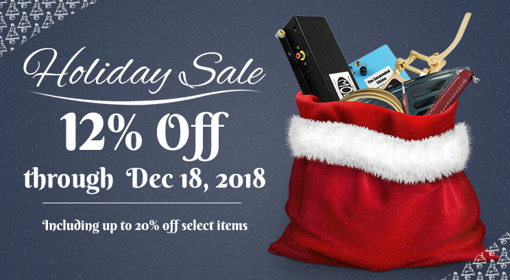 Holiday sale: up to 20% off