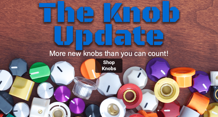 The knob update: We added more knobs than you can count!