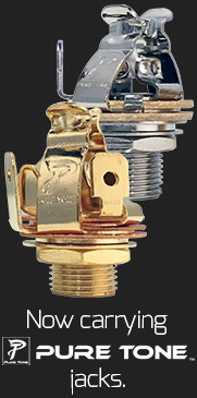 Now carrying Pure Tone jacks
