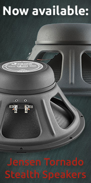 Jensen Tornado Stealth Speakers now available