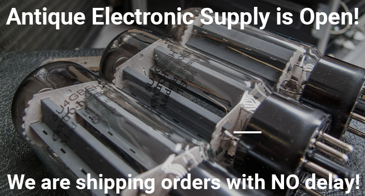 We are still open and shipping!