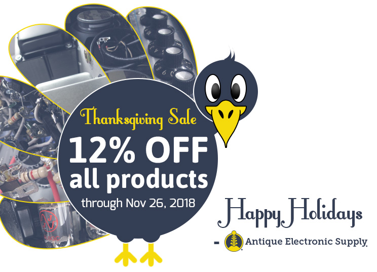 12% off all products through November 26.