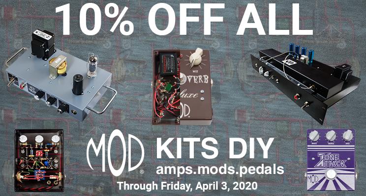 10% off all MOD Kits!