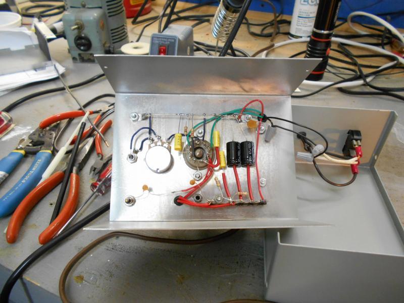Kit - Pine Board Wireless Transmitter   Antique Electronic