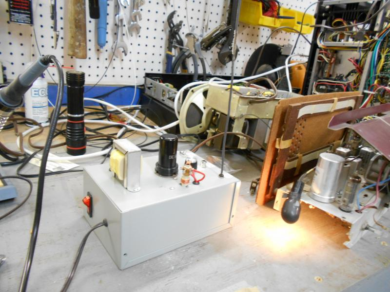 Kit - Pine Board Wireless Transmitter | Antique Electronic