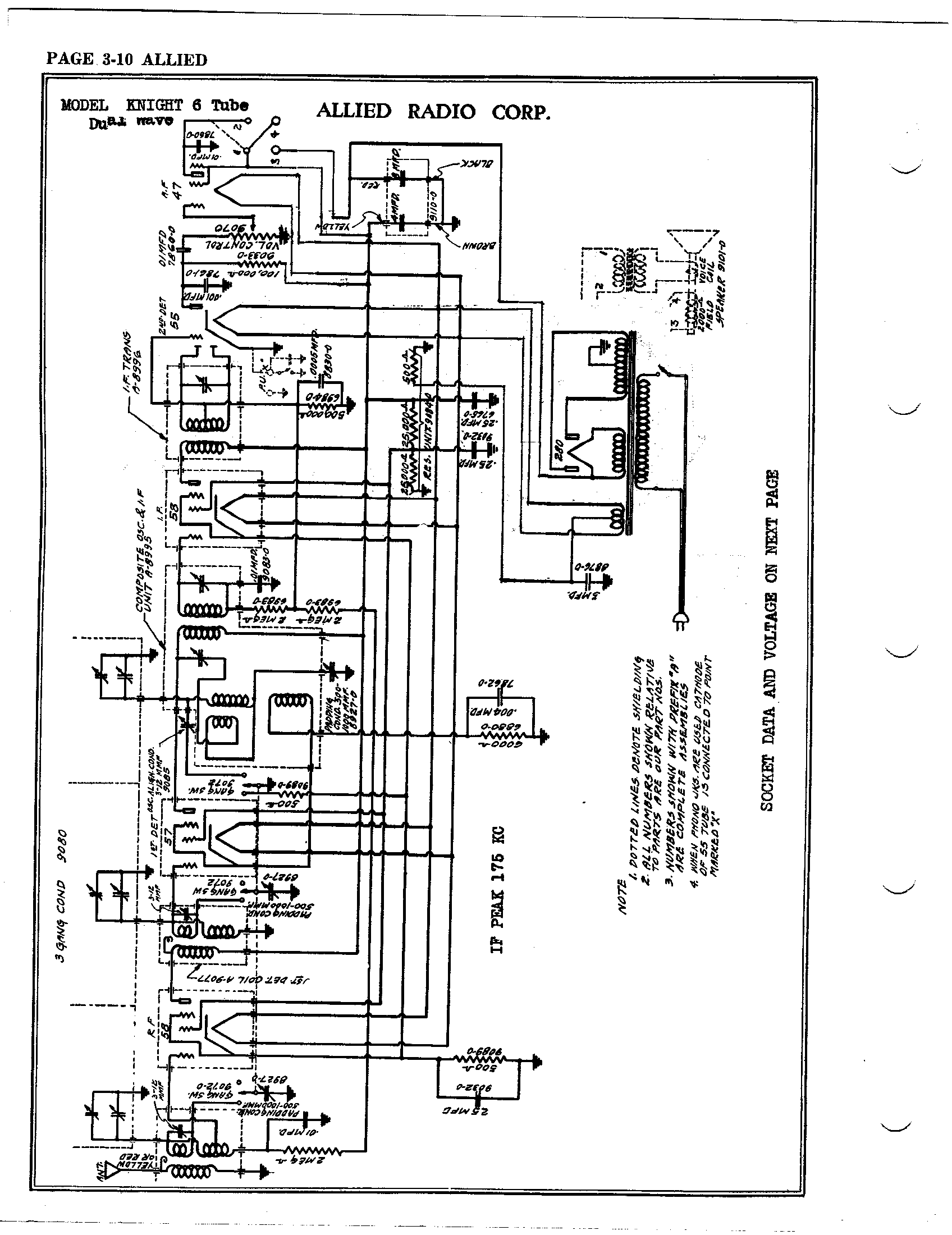 Am Radio Schematic Diagram Tube