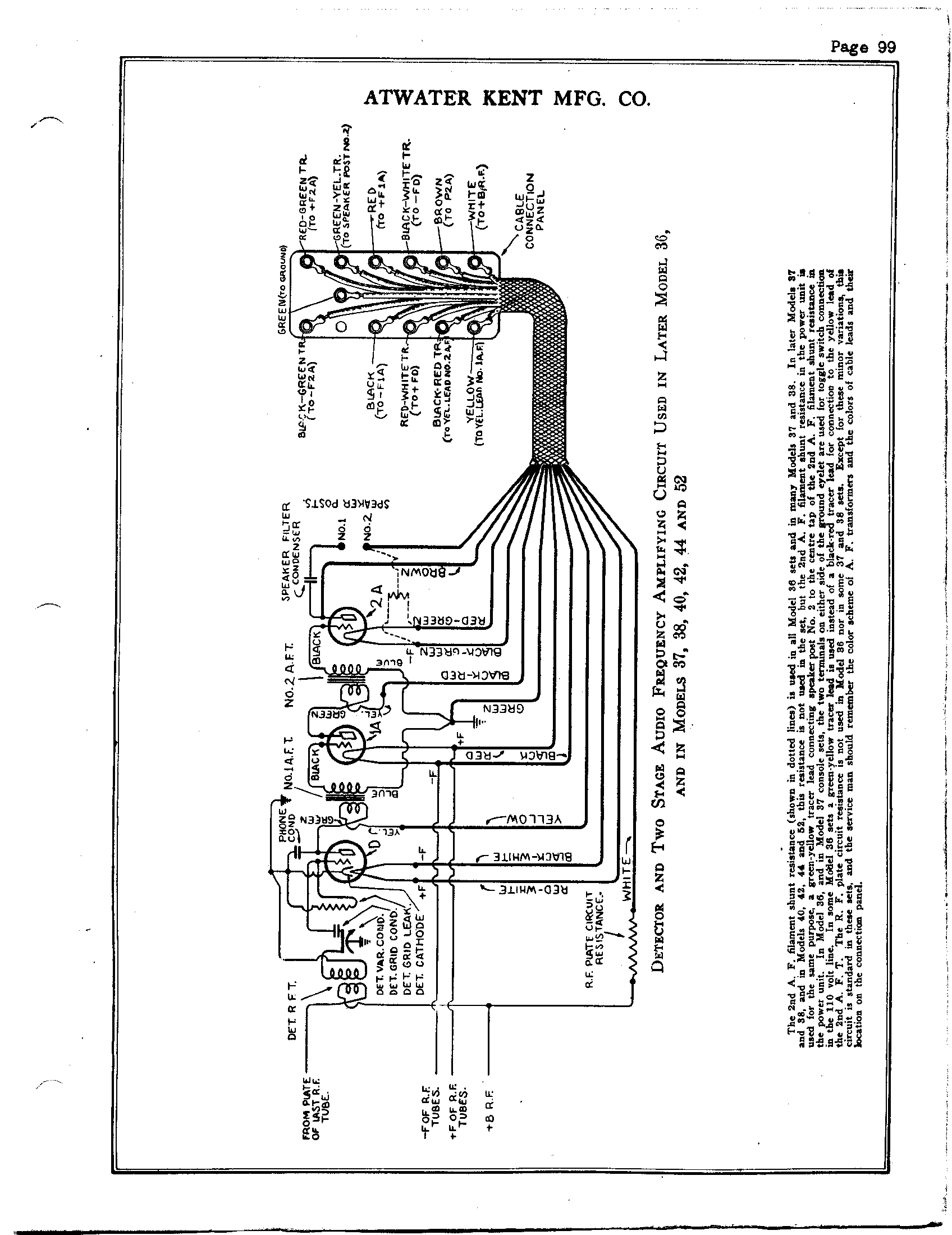 wiring diagram for guitar atwater kent 40 antique electronic supply  atwater kent 40 antique electronic supply