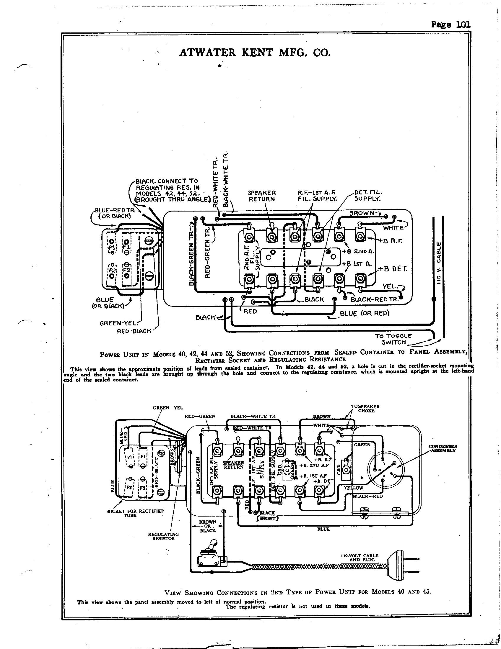 Atwater Kent 40 Power Unit