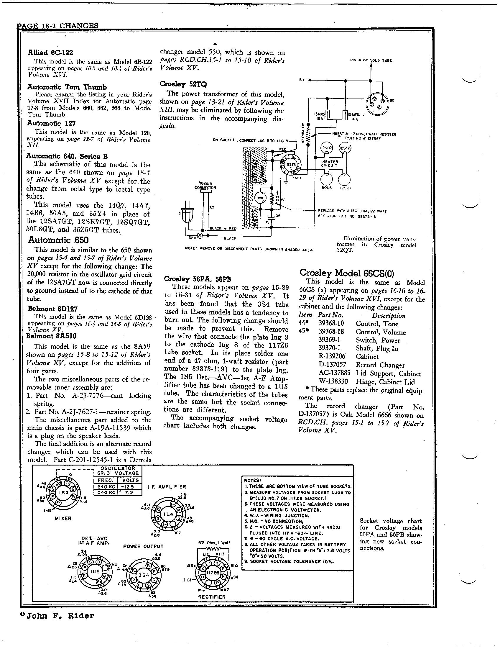 belmont radio corp  8a510