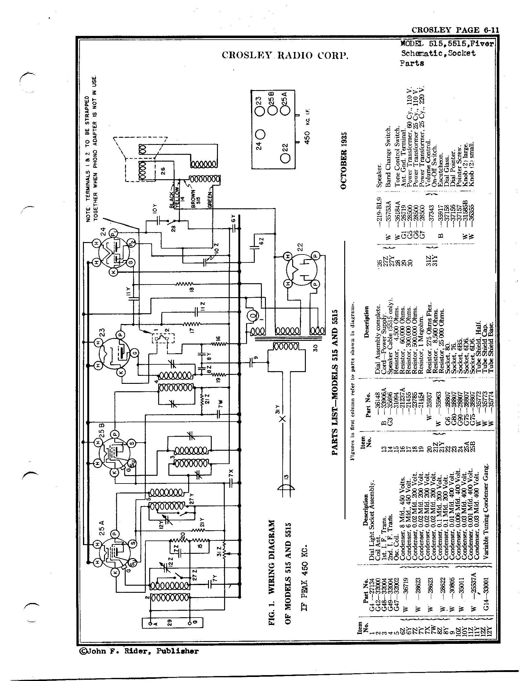 crosley corp  515