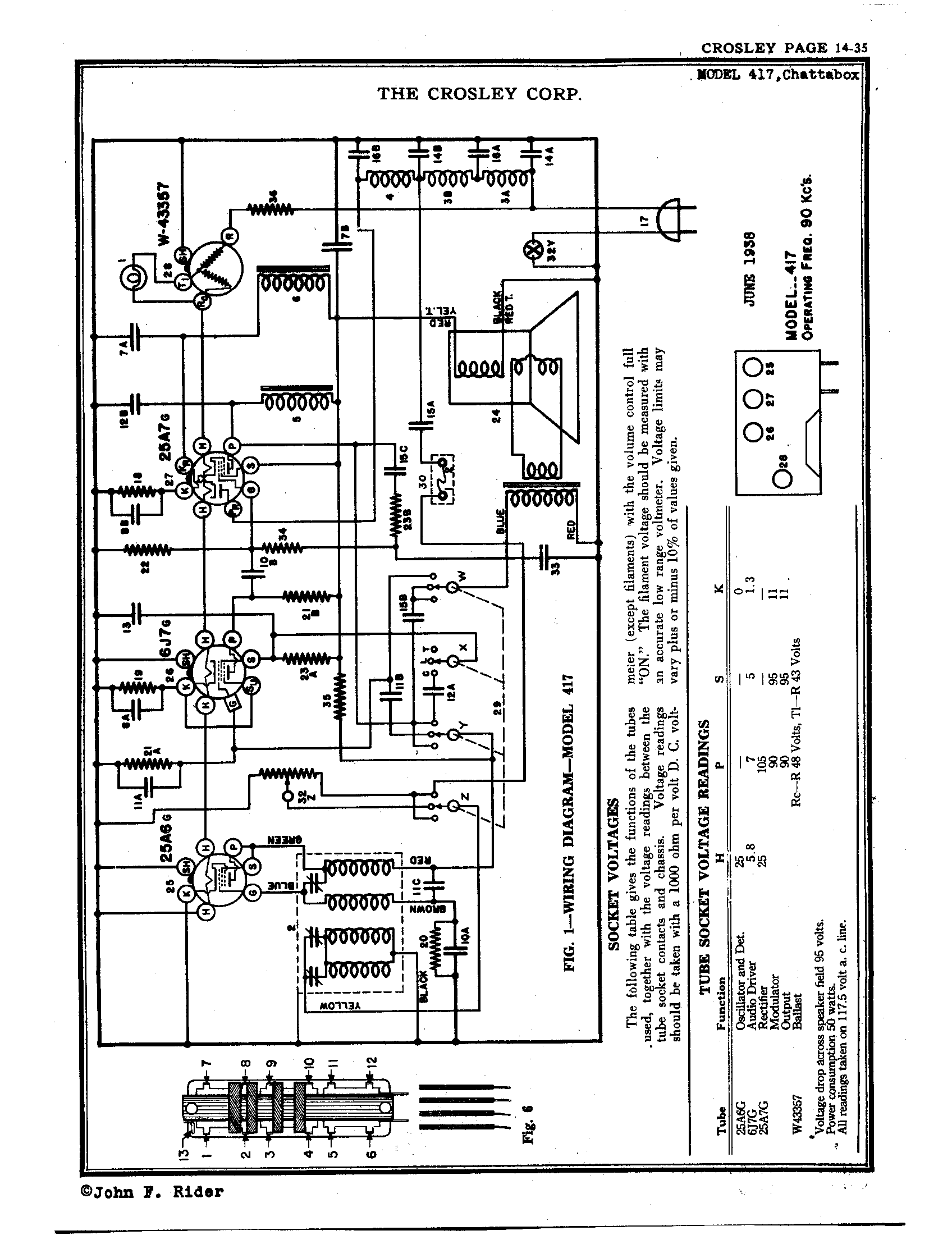 [DIAGRAM_34OR]  Crosley Corp. Chatterbox | Antique Electronic Supply | Chatterbox Wiring Diagram |  | Antique Electronic Supply
