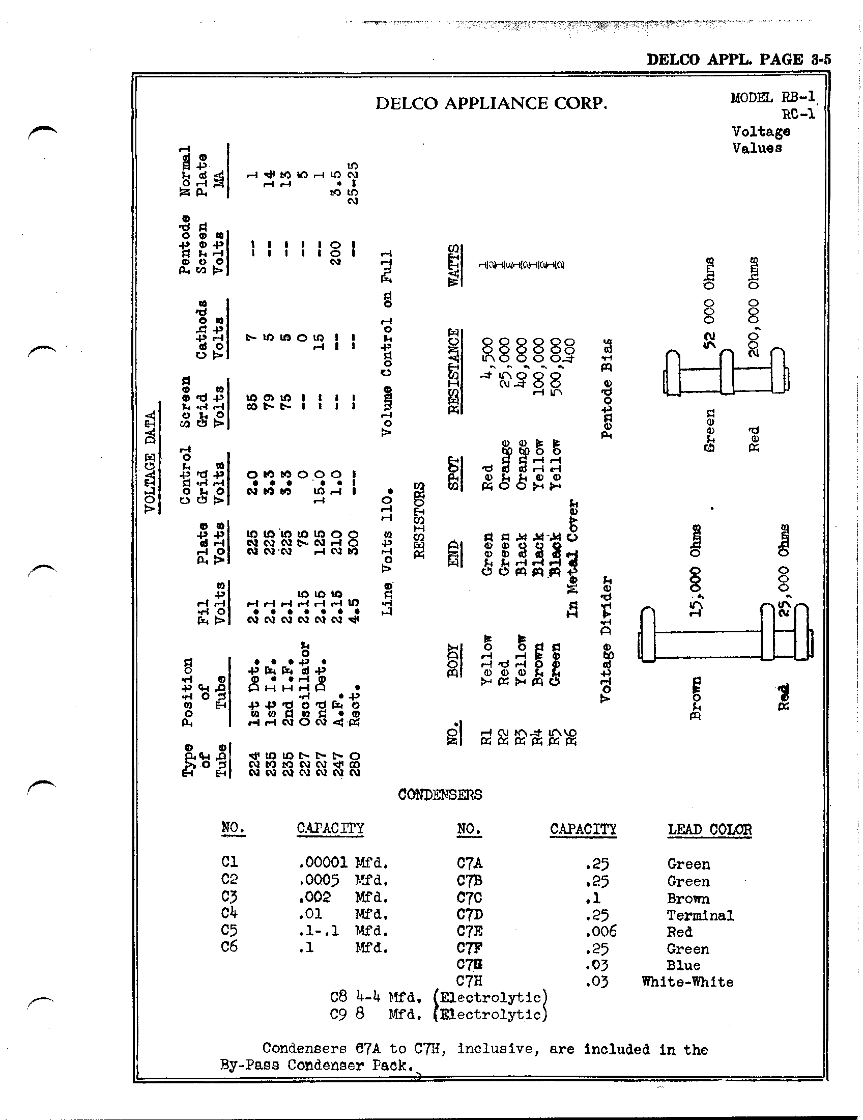 Delco Factory Radios Wiring Diagram Delco Circuit Diagrams