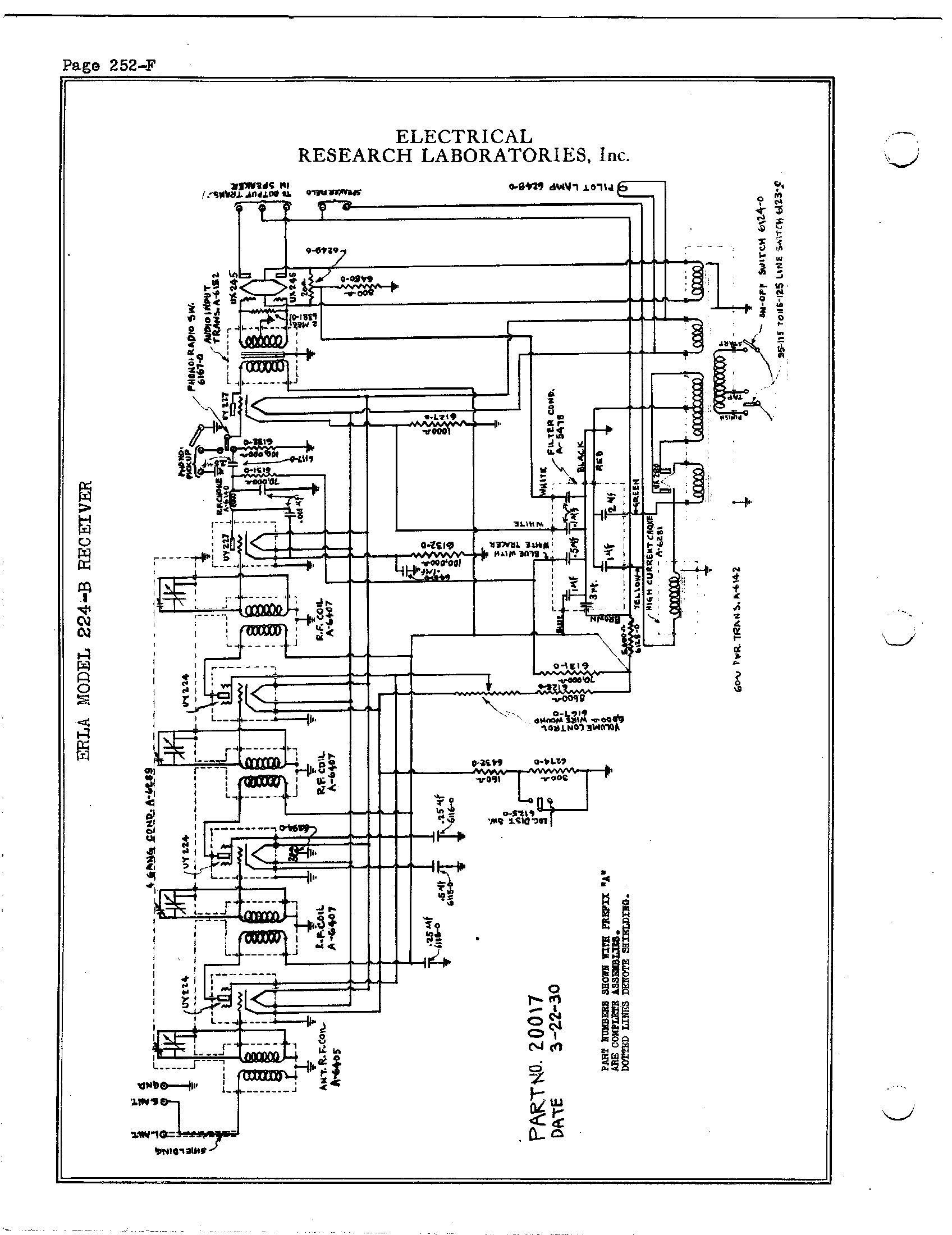 Black Lab Schematic Wire Center Schematics Of Delabs Powersupplies Electrical Research 224 B Antique Electronic Supply Rh Tubesandmore Com Diagram