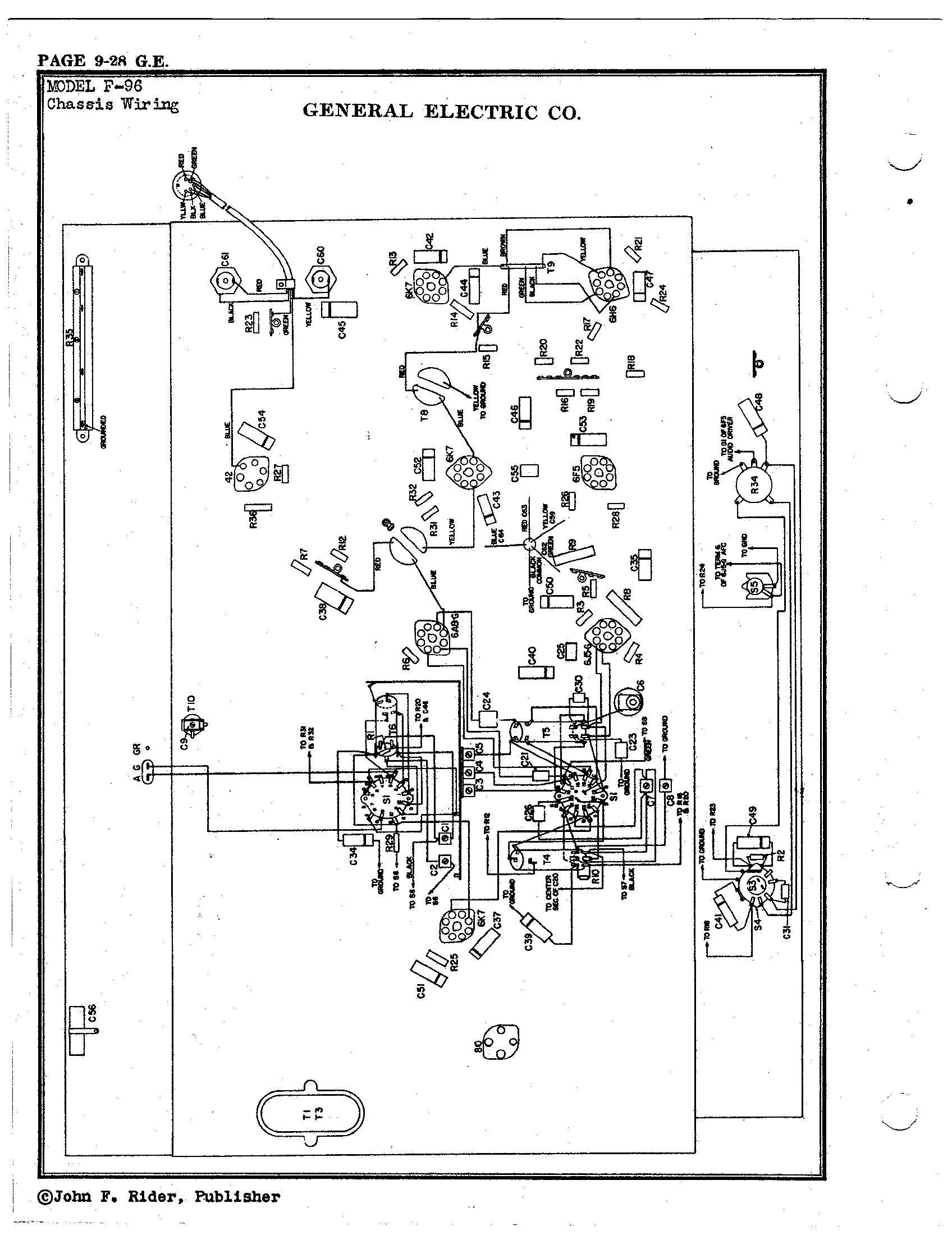 Ge Radio Schematic - Wiring Diagrams List