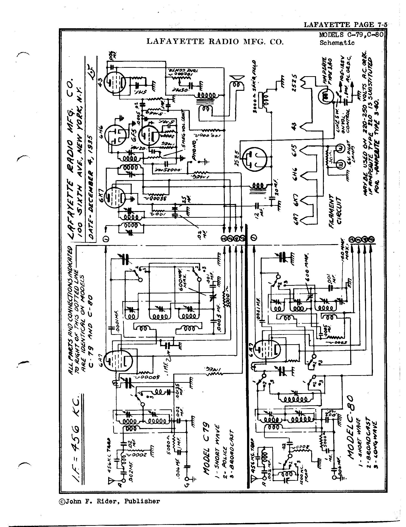 Magnificent Lafayette Wiring Diagrams Wiring Diagram Wiring Digital Resources Dylitashwinbiharinl