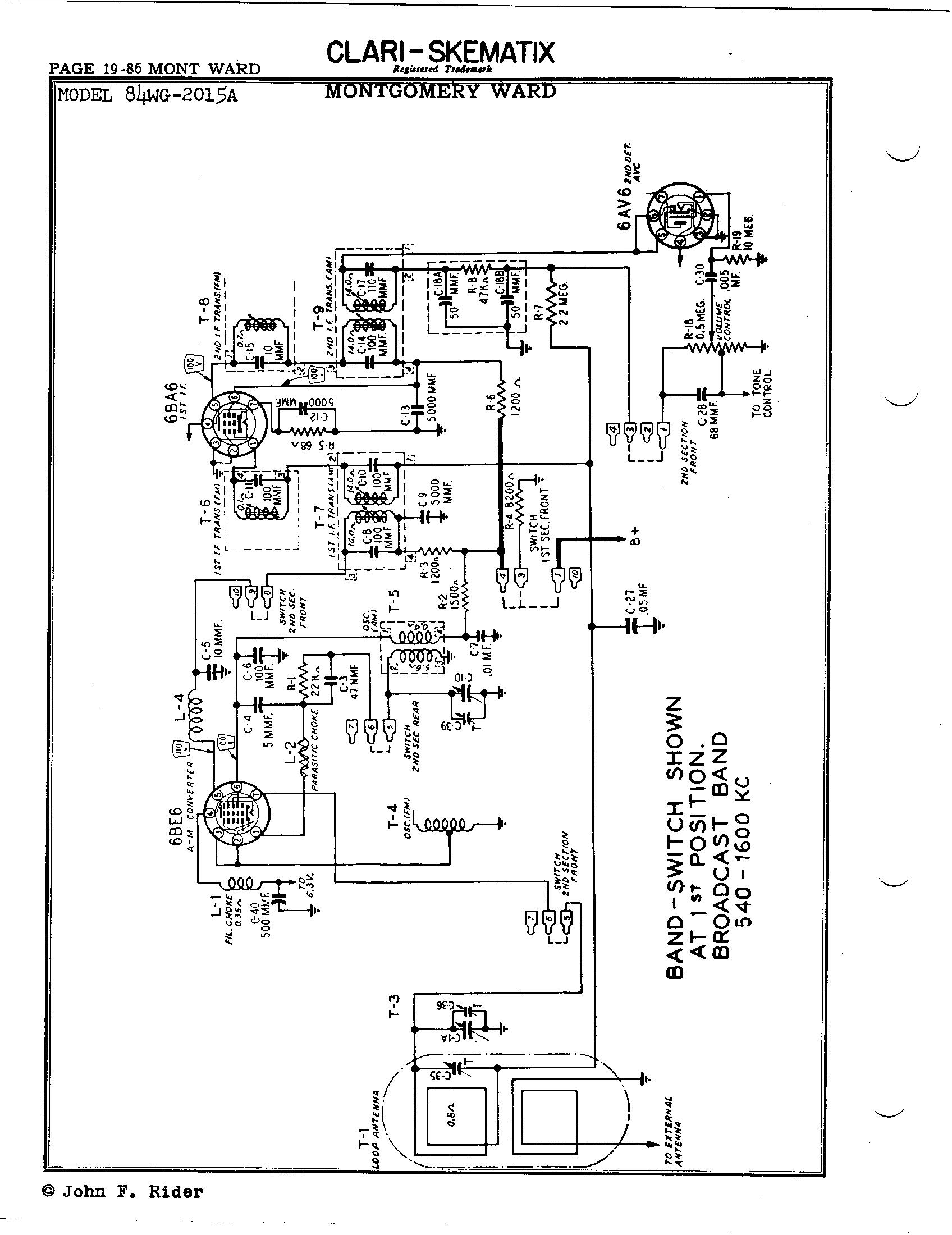 on airline schematics