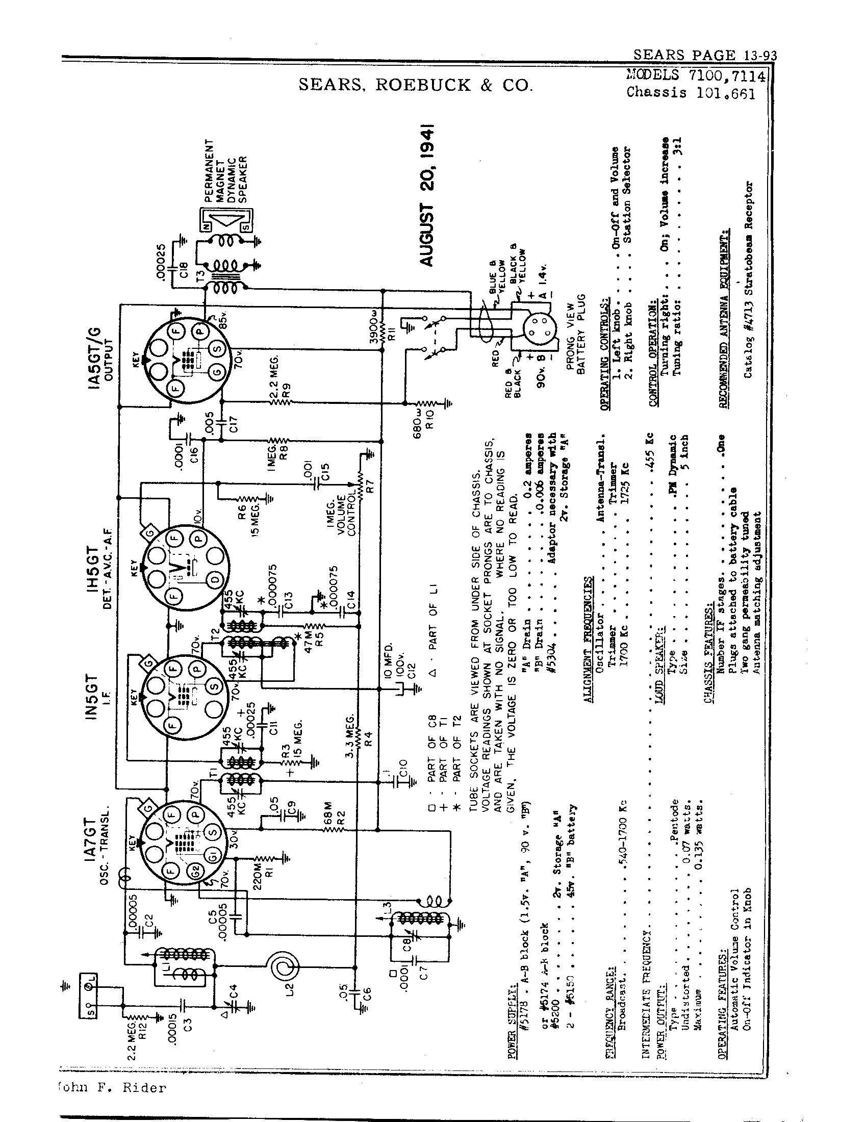 Sear 600 Furnace Wiring Diagram Model