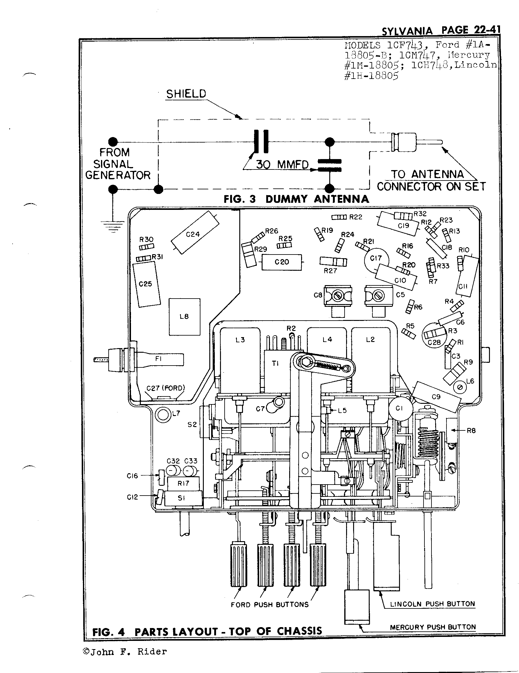 Sylvania Electric Products 1cf743 Antique Electronic Supply. Page 3 5275 Kb Rider Manual Volume 22. Wiring. Sylvania Tube Radio Schematics At Scoala.co