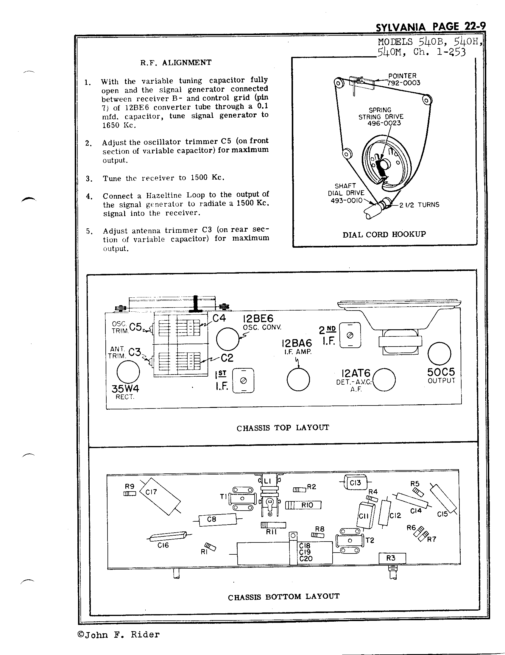 Sylvania Electric Products 540b Antique Electronic Supply. Page 2 4529 Kb Rider Manual Volume 22. Wiring. Sylvania Tube Radio Schematics At Scoala.co