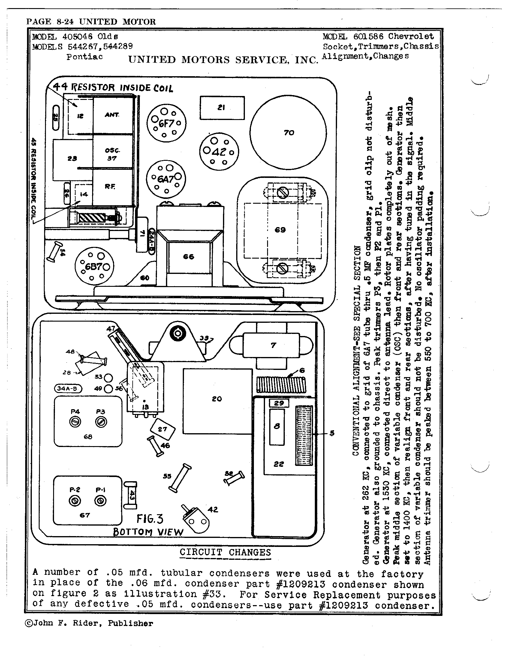 pontiac 2 2 engine diagram schematics united motors service delco 544289 pontiac antique electronic  delco 544289 pontiac