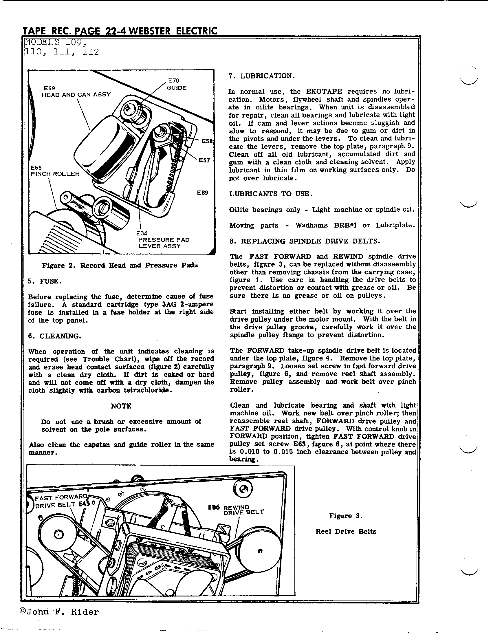 Webster Electrical Corp 111 Antique Electronic Supply E34 Fuse Box Diagram Page 4 8193 Kb Rider Manual Volume 22