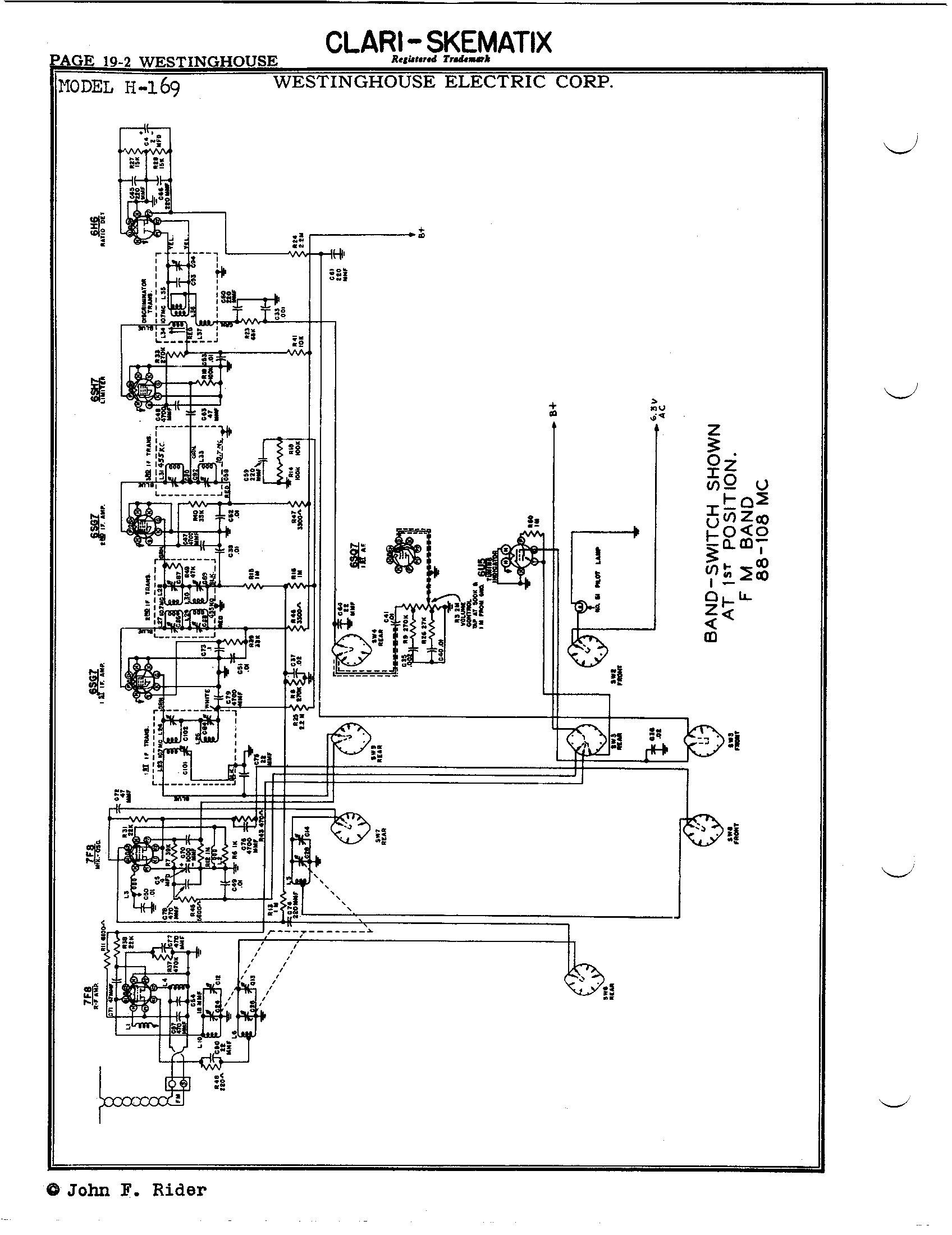 westinghouse electric corp  h