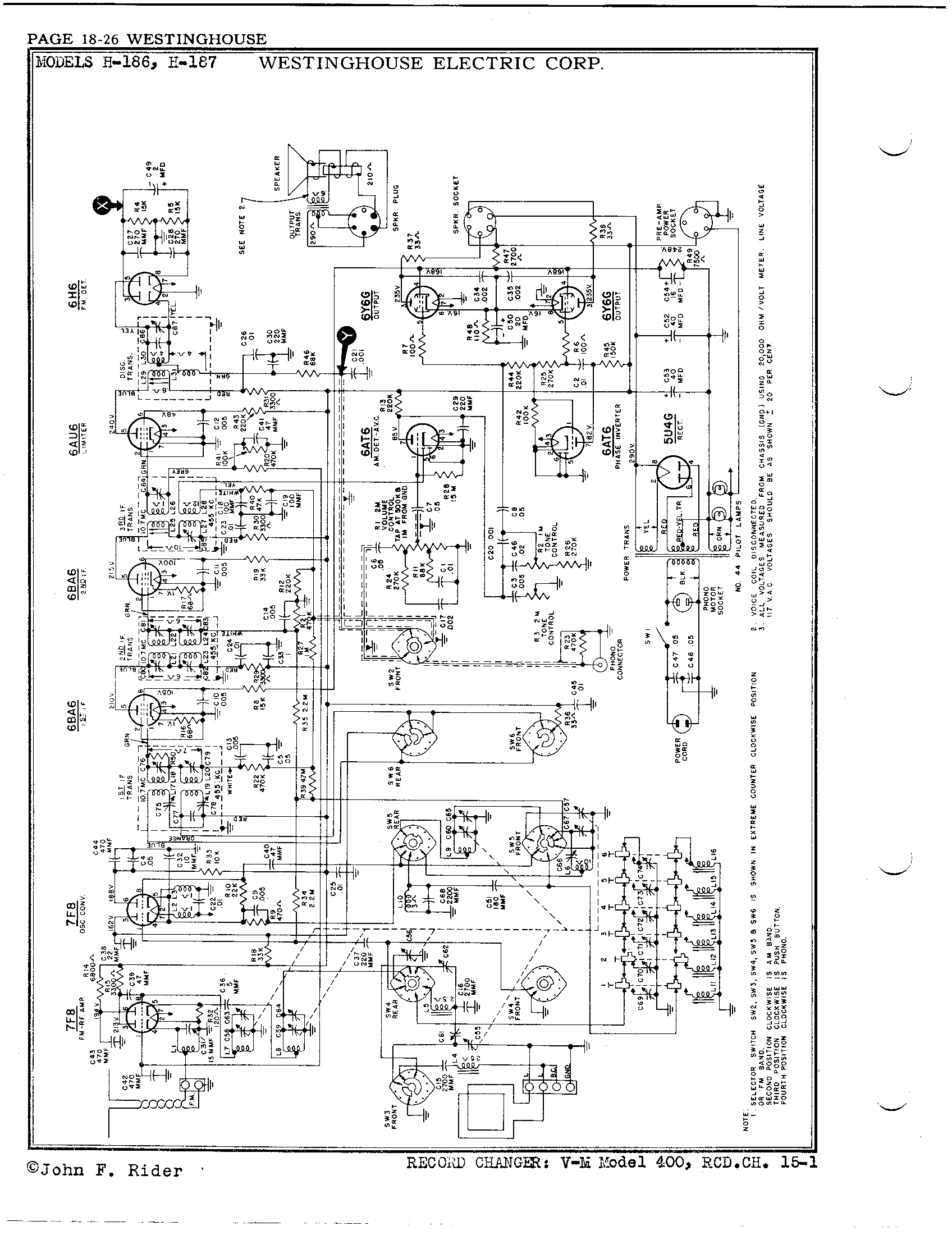 westinghouse_electric_corp_h_187_pg18-1 Westinghouse Motor Wiring Diagram on westinghouse motor starter, forward reverse drum switch diagram, westinghouse motor maintenance, westinghouse motors 1 4 hp, lathe compound slide parts diagram, white westinghouse dryer diagram, hs 25 loading diagram, kenmore electric dryer diagram, westinghouse motor cross reference, south bend lathe parts diagram, leeson motor parts diagram, frigidaire electric dryer diagram, westinghouse furnace model, westinghouse motor control diagram, baldor motor parts diagram, frigidaire gallery washer parts diagram, westinghouse furnace parts diagram, westinghouse electric motor connection diagram, westinghouse electric motor information, westinghouse type fht motor electric,