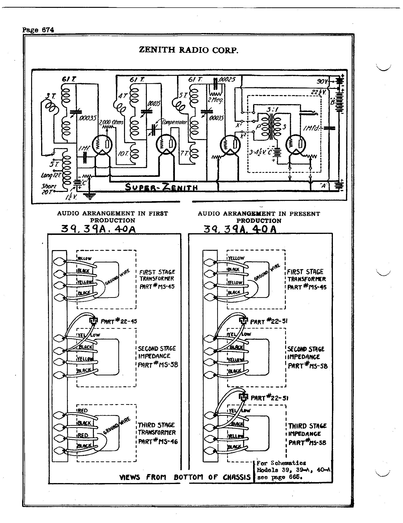 Zenith Radio Corp 39a Antique Electronic Supply. Page 3 5822 Kb Rider Manual Volume 1. Wiring. Zenith Tube Radio Schematics 39a At Scoala.co