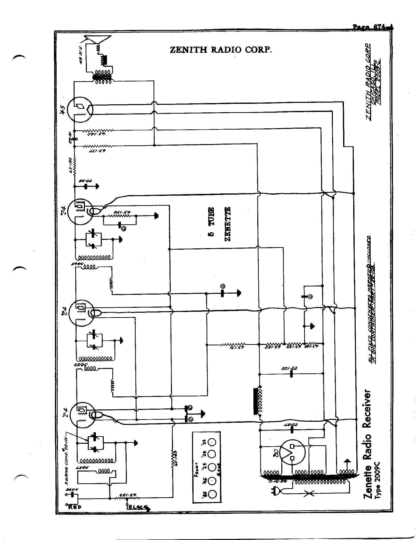 zenith radio corp  5