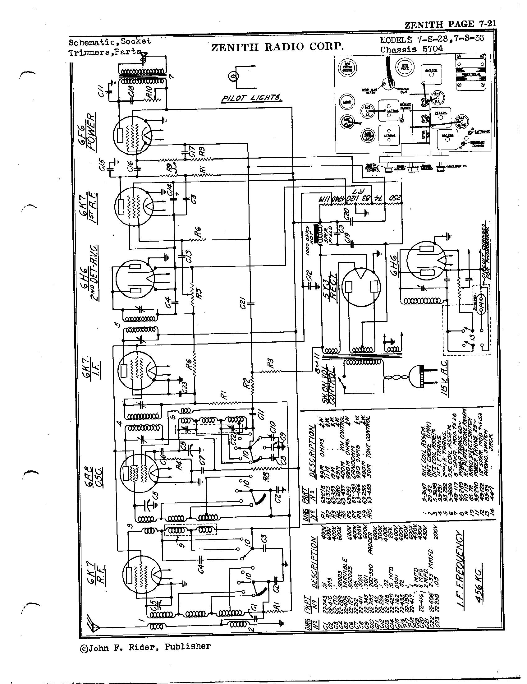 zenith radio corp  7