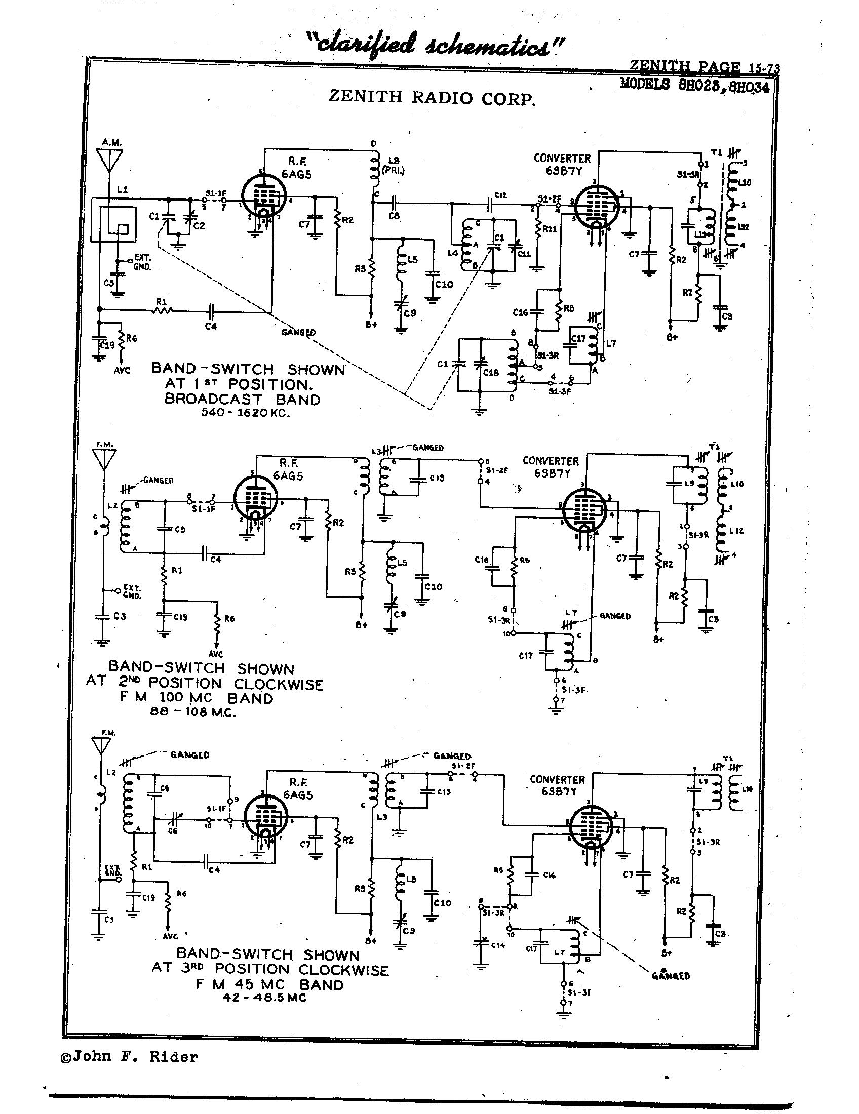 Fm Tube Radio Schematic