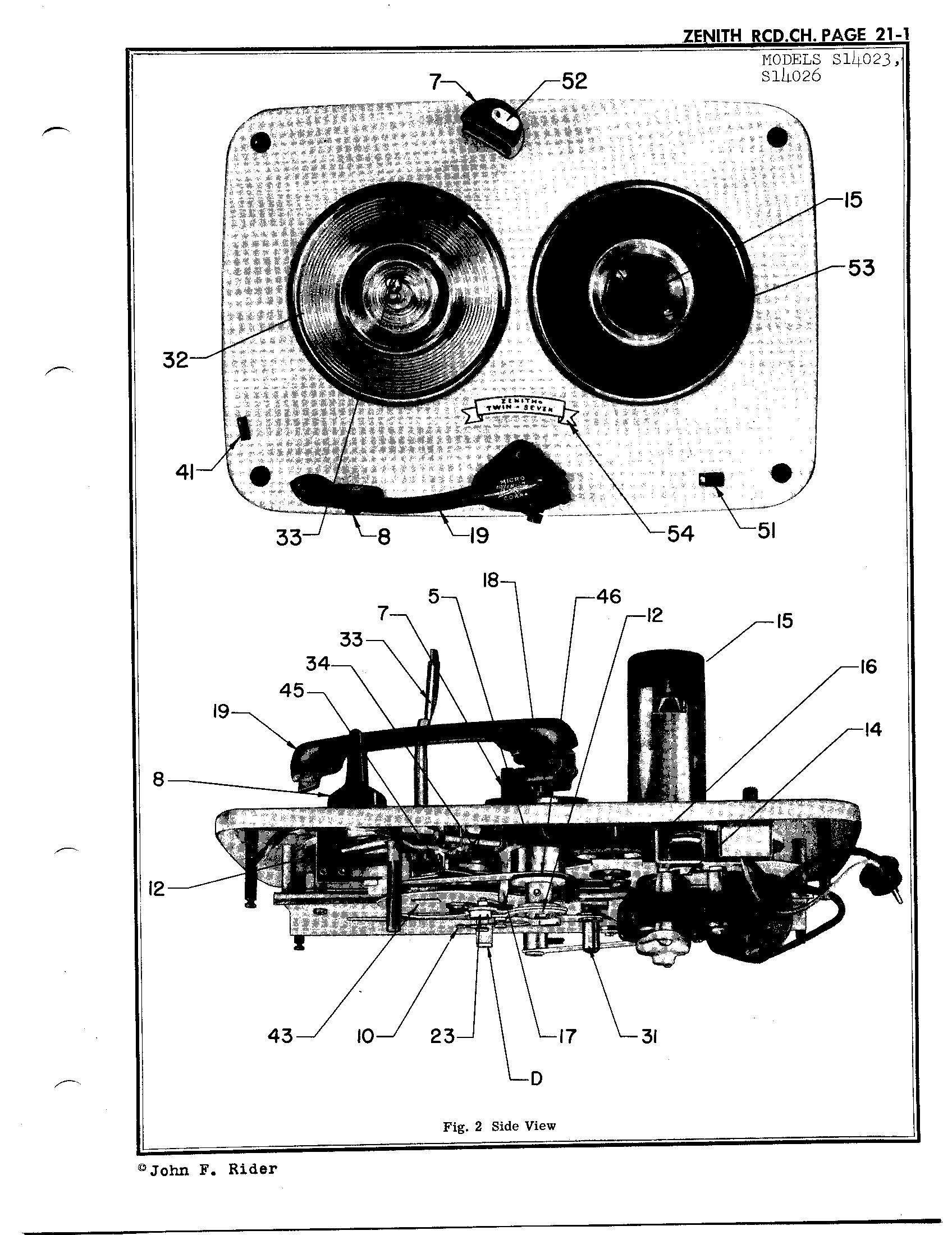 zenith radio corp  s14023