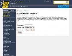 Capacitance Converter