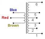 Wiring Diagram for 3 W / 25 mA