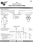 NOS Tube Specification Sheet
