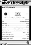 Datasheet for 100 µF - 100 V