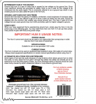 Packaging Info