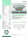 Specification Sheet