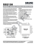 SSI2130 Datasheet