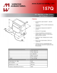 Specification Sheet for 3.5 H / 150 mA