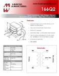 Specification Sheet for 6 A