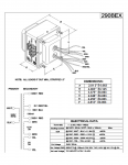 Specification Sheet for Deluxe, Deluxe Reverb