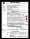 Safety Data Sheet for 4 oz