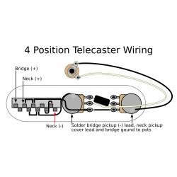 4 Position Tele Electronics Upgrade