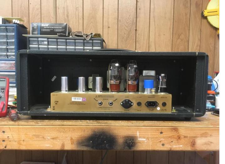 JTM 45 With TedB Mods Vogel Instrument Company