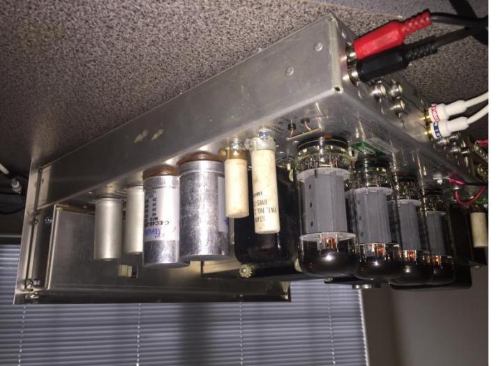 CE capacitors & EH 7591s in my Scott 340B restoration