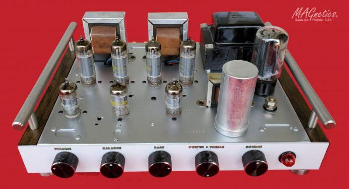 MAGnetics Amplifier (front view)