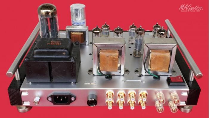 MAGnetics Amplifier (rear view)